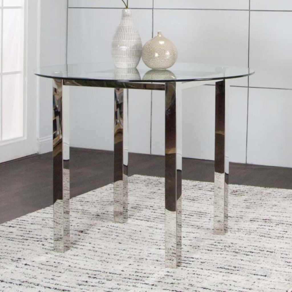 Tomasso Round Counter Table, Dining Table, Cramco - Adams Furniture