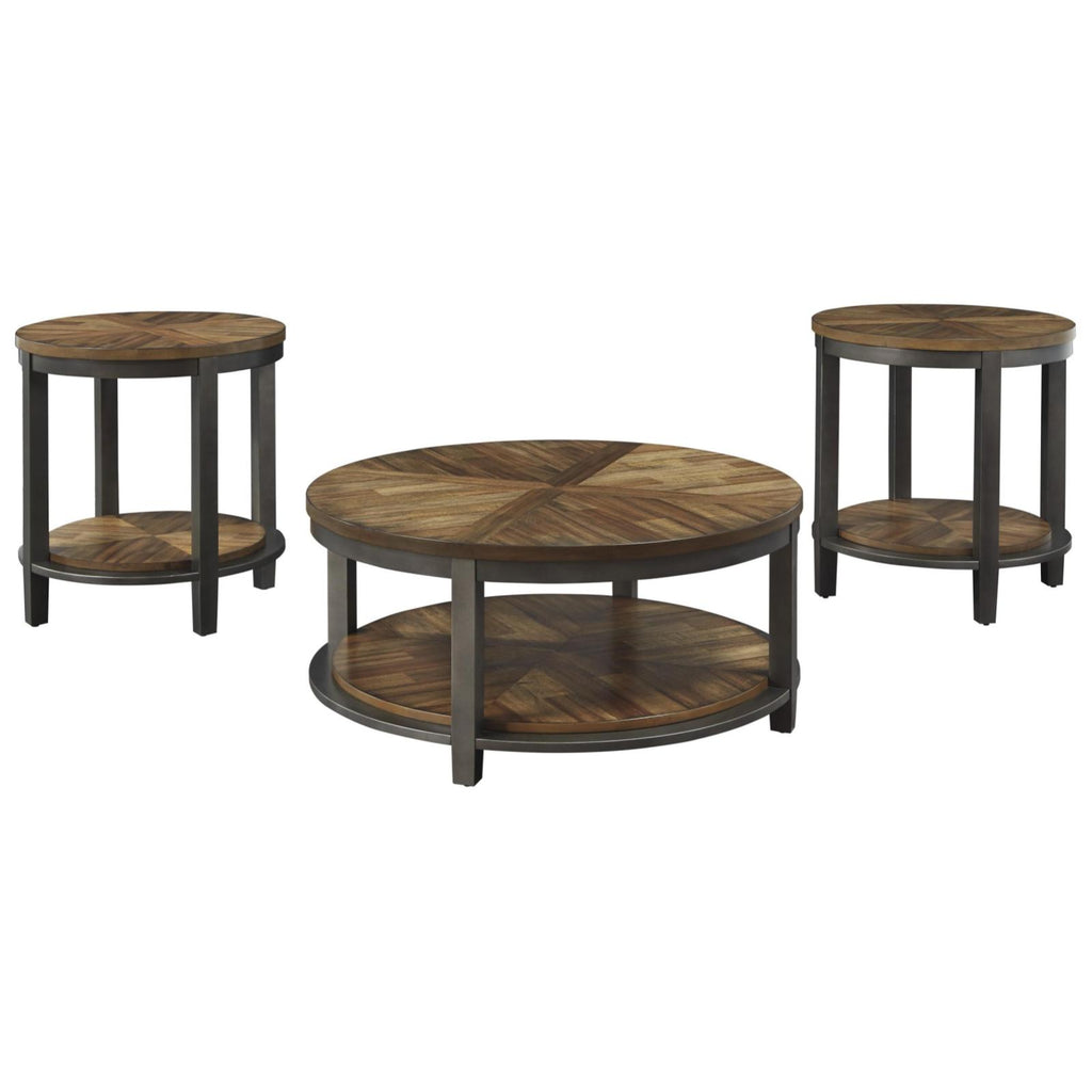 Roybeck 3pc Occasional Table Set, Occasional Tables, Ashley Furniture - Adams Furniture
