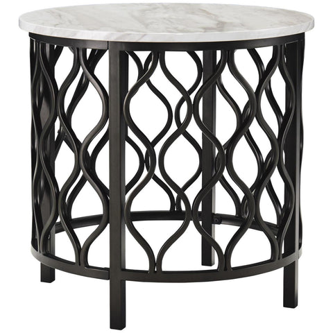 Trinson Round End Table