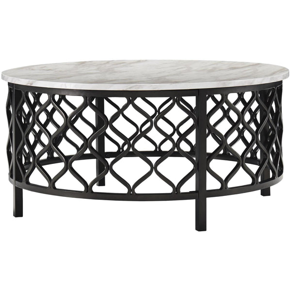 Trinson Round Coffee Table Adams Furniture