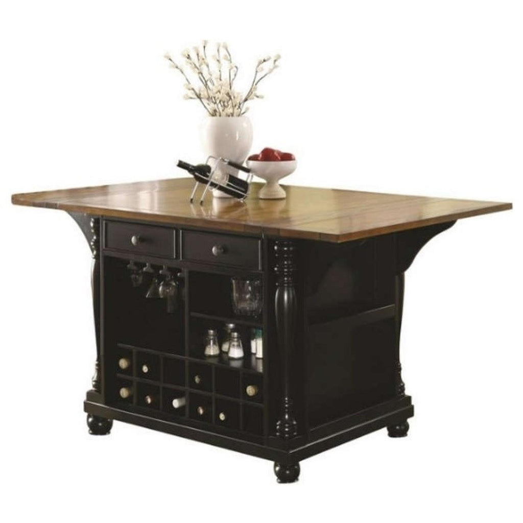 Slater Kitchen Island, Kitchen Island, Coaster Furniture - Adams Furniture