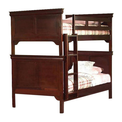 Versaille Twin/Twin Bunk Bed, Bunk Bed, New Classic Furniture - Adams Furniture