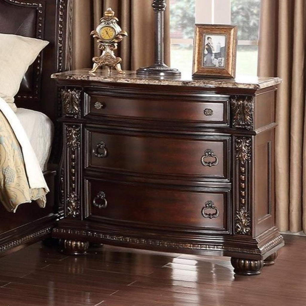 Stanley Nightstand, Nightstand, Crown Mark - Adams Furniture