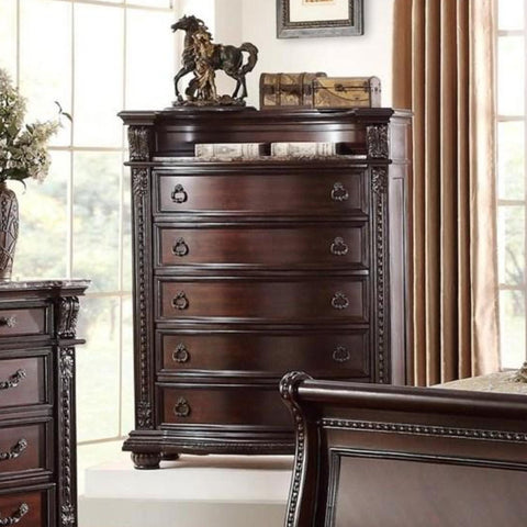 Stanley Drawer Chest, Chest, Crown Mark - Adams Furniture