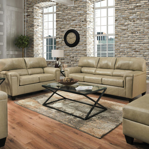 Soft Touch Putty Living Room Set