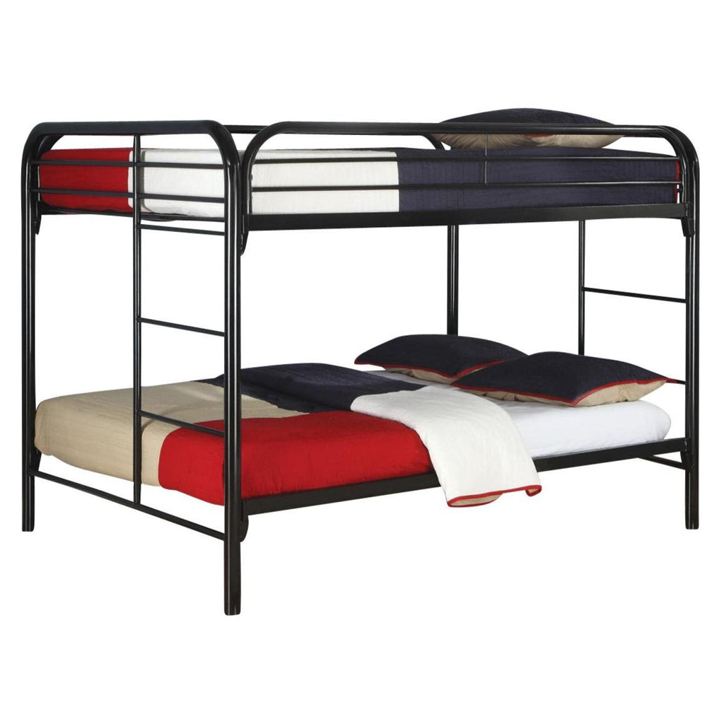 Princeton Full/Full Metal Bunk Bed, Bunk Bed, Coaster Furniture - Adams Furniture