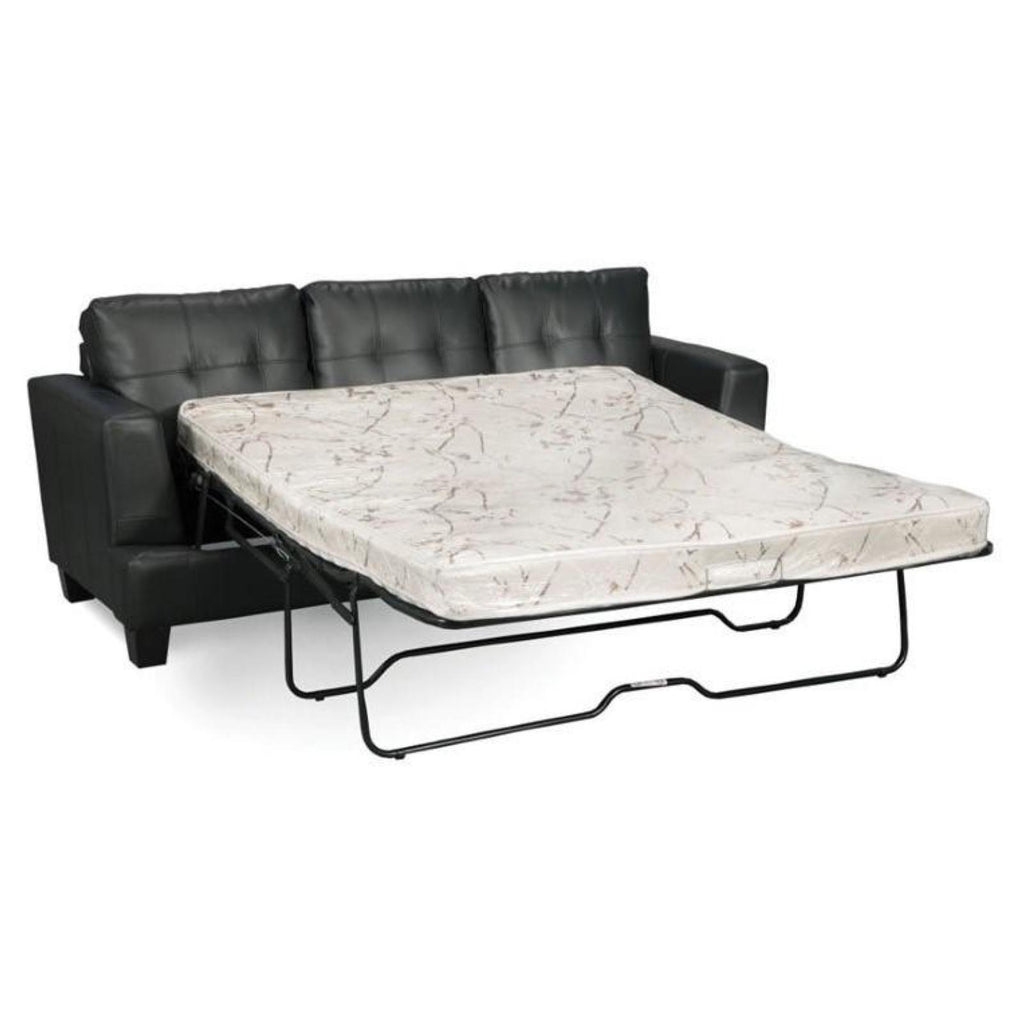 Samuel - Black Sleep Sofa, Sleep Sofa, Coaster Furniture - Adams Furniture