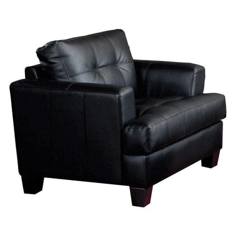 Samuel - Black Chair, Accent Chair, Coaster Furniture - Adams Furniture