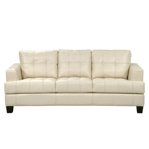 Samuel - Cream Sofa, Sofa, Coaster Furniture - Adams Furniture