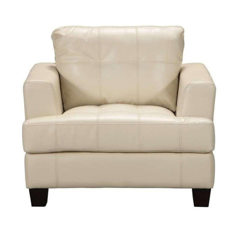 Samuel - Cream Chair, Accent Chair, Coaster Furniture - Adams Furniture