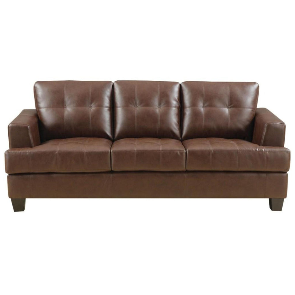 Samuel - Brown Sofa