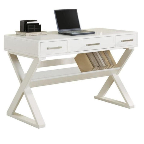 3 Drawer Writing Desk, Desk, Coaster Furniture - Adams Furniture