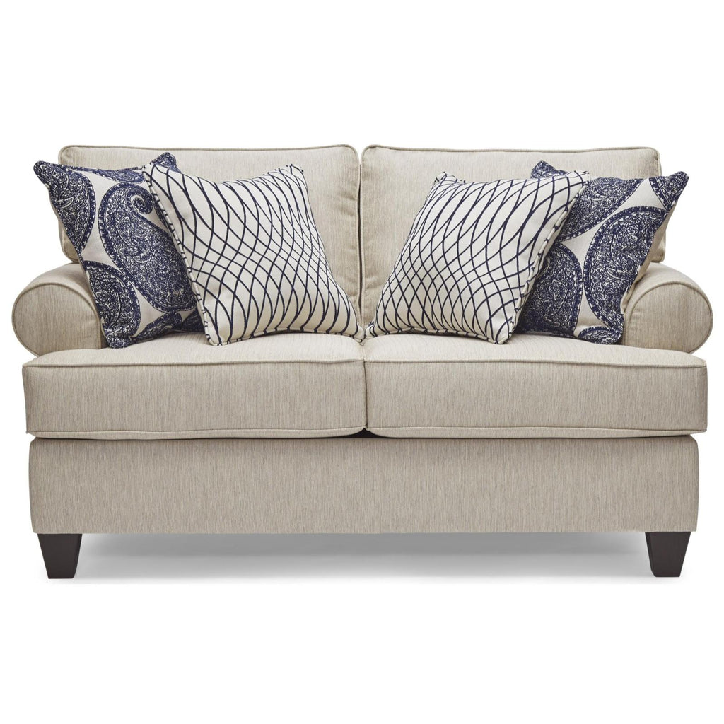 Maggie Linen Loveseat, Loveseat, Lane - Adams Furniture