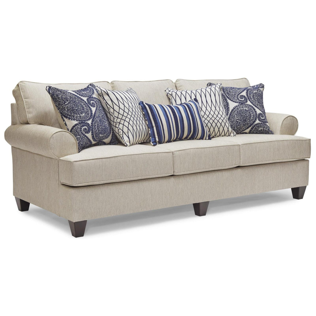Maggie Linen Sofa, Sofa, Lane - Adams Furniture