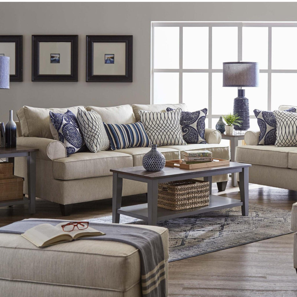 Maggie Linen Living Room Set, Living Room Set, Lane - Adams Furniture