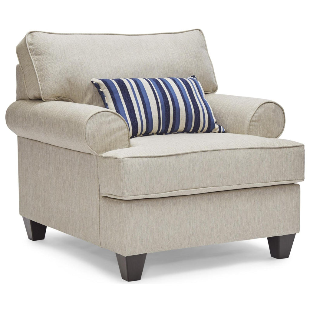 Maggie Linen Chair, Accent Chair, Lane - Adams Furniture