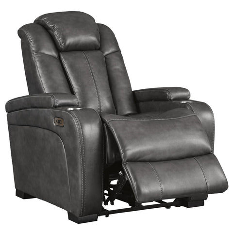 Turbulance Power Motion Recliner, Recliner, Ashley Furniture - Adams Furniture