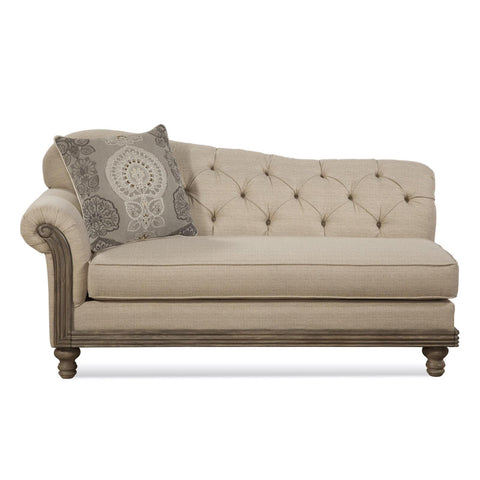 New Siam Chaise, Chairs, Hughes Furniture - Adams Furniture