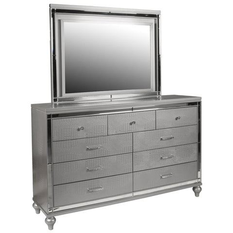 Valentino Dresser & Mirror, Dresser & Mirror, New Classic Furniture - Adams Furniture