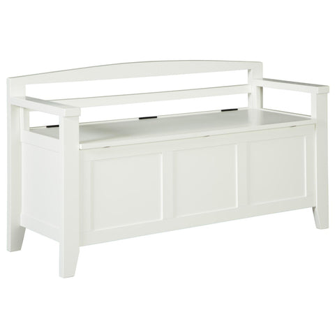 Charvanna Storage Bench, Accent Bench, Ashley Furniture - Adams Furniture