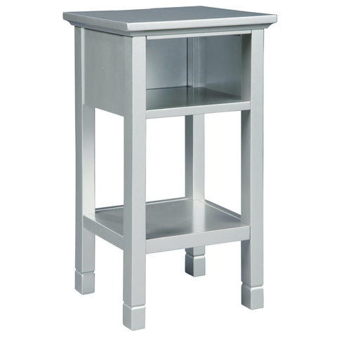Marnville Silver Accent Table, Accent Table, Ashley Furniture - Adams Furniture