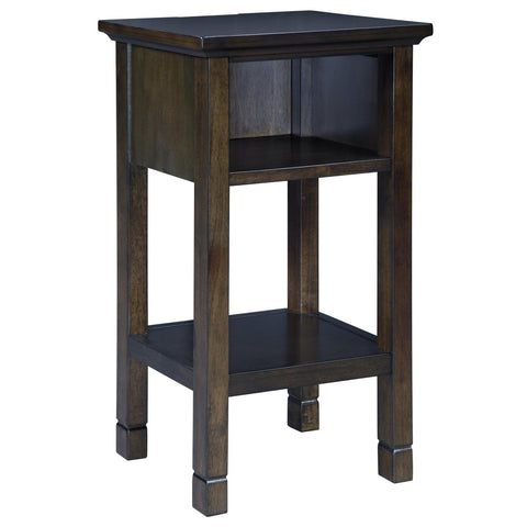 Marnville Dark Brown Accent Table, Accent Table, Ashley Furniture - Adams Furniture