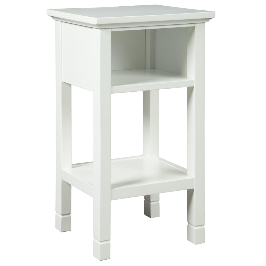 Marnville White Accent Table, Accent Table, Ashley Furniture - Adams Furniture