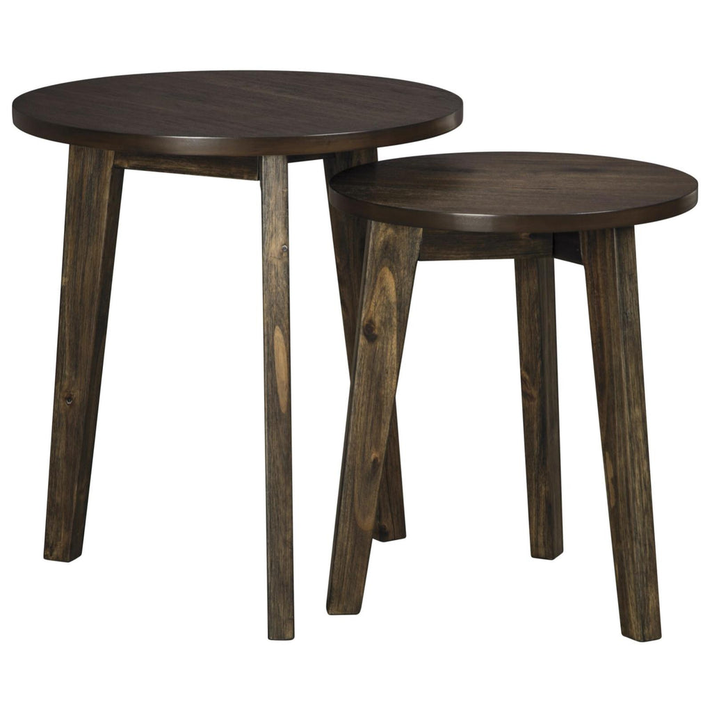 Clydmont 2PC Accent Table Set, Accent Table, Ashley Furniture - Adams Furniture