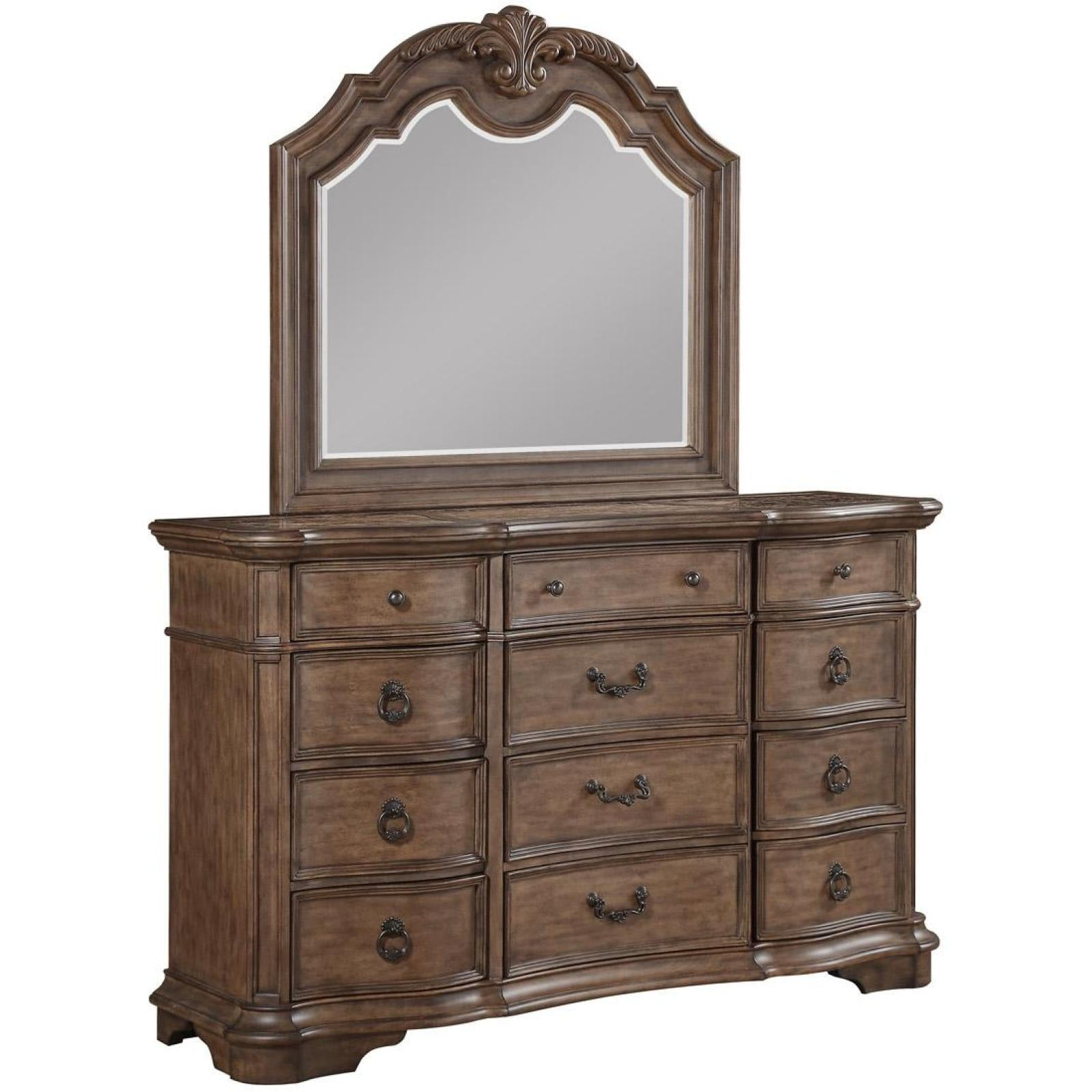 Tulsa Dresser Mirror Adams Furniture