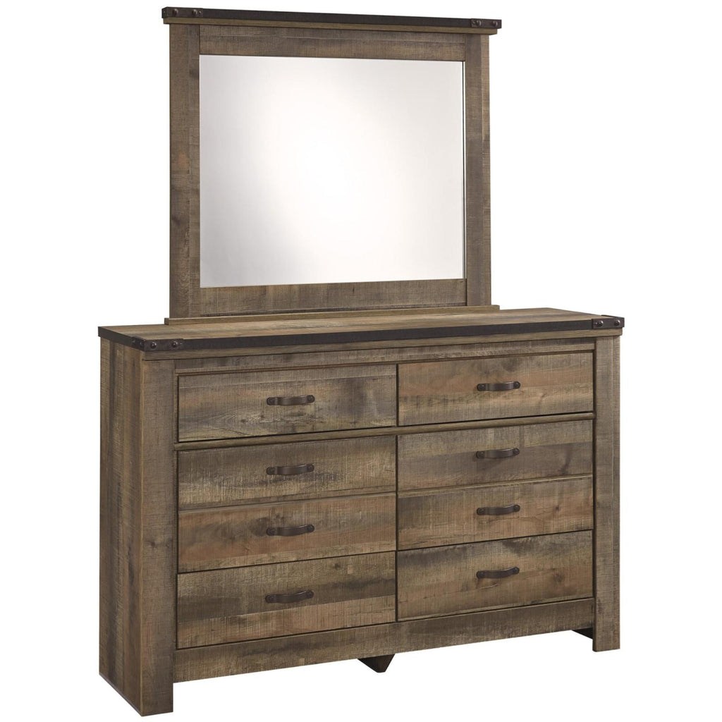 Trinell Youth Dresser & Mirror, Kids Bedroom, Ashley Furniture - Adams Furniture