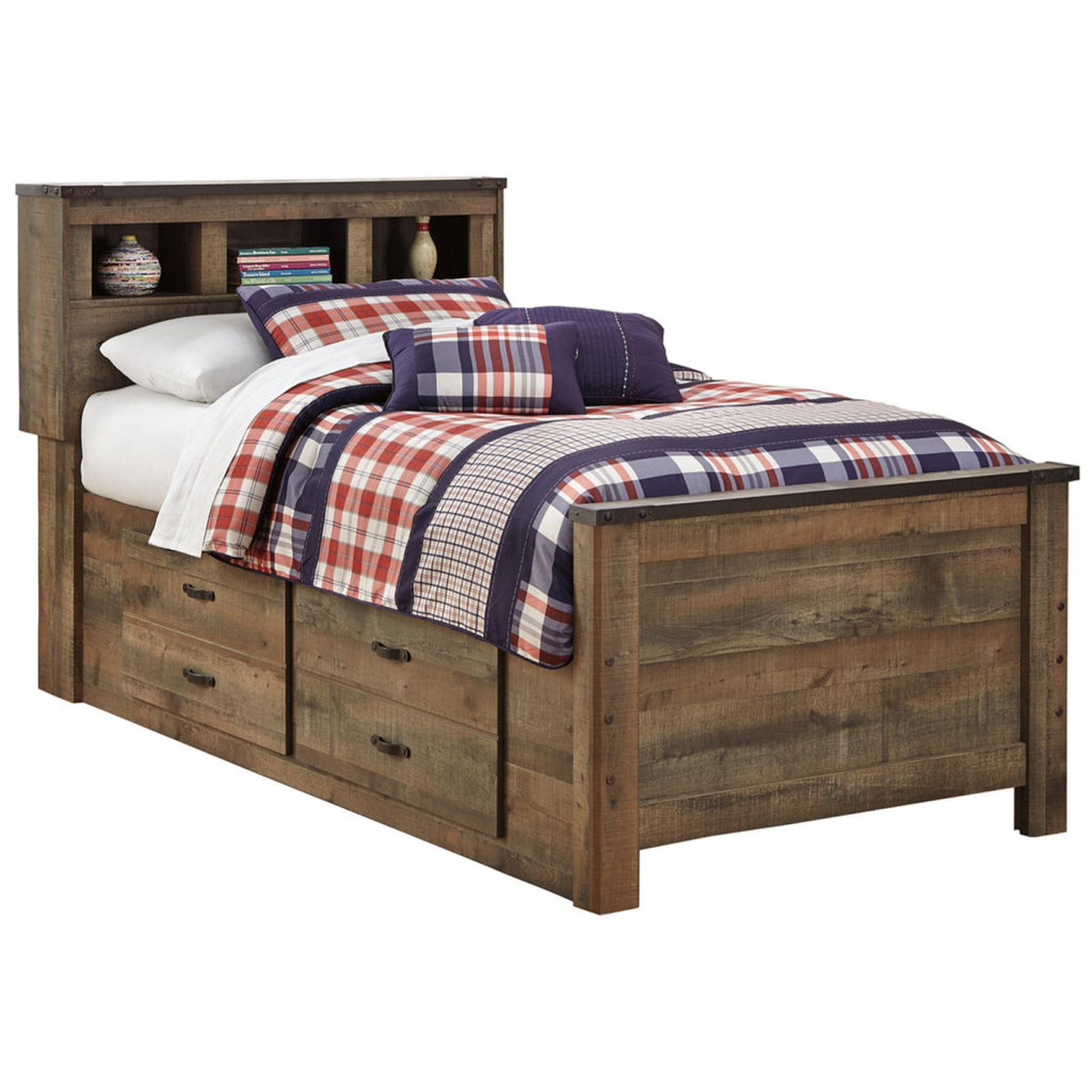 Trinell Bookcase Bed, Kids Bedroom, Ashley Furniture - Adams Furniture