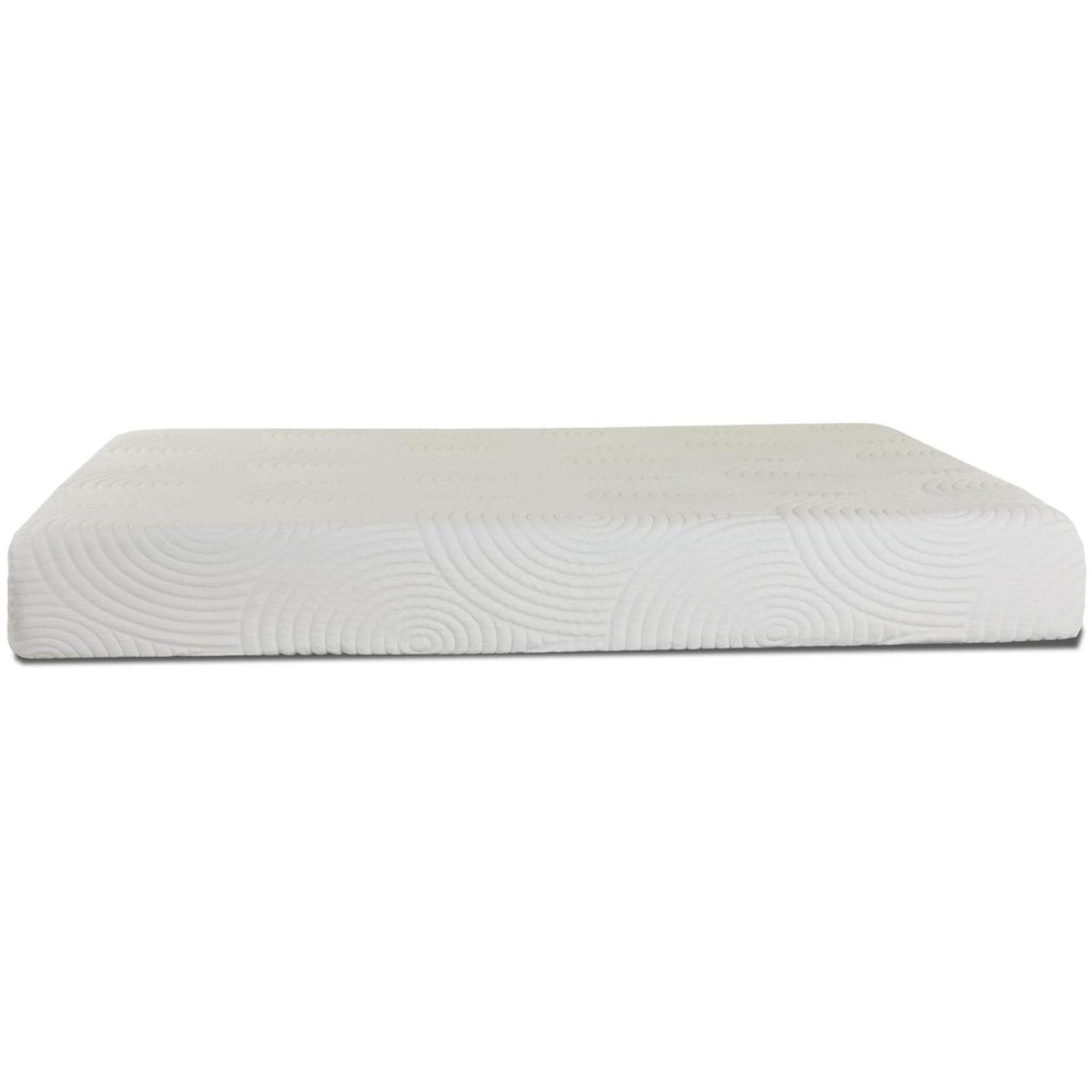 "Bristol 10"" Queen Memory Foam Mattress, Mattress - Adams Furniture"