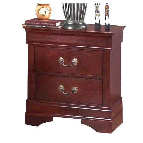 Louis Philippe Bedroom Set – Adams Furniture