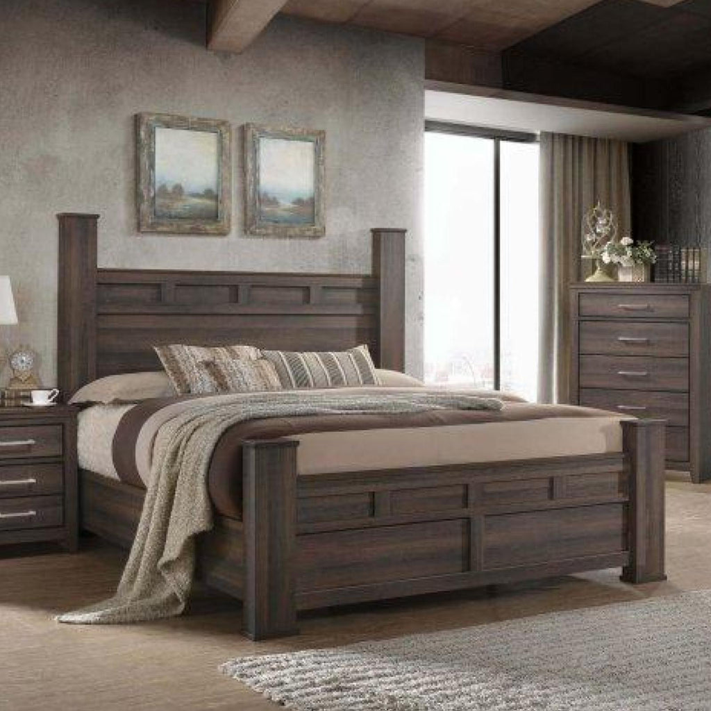 Jordan Bed, Bed, Lifestyle Furniture - Adams Furniture