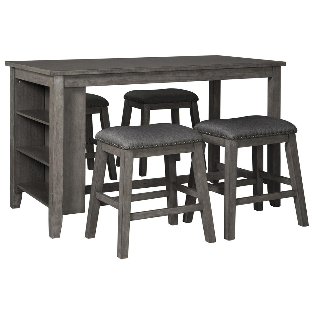 Caitbrook Counter Dining Set, Dining Set - Adams Furniture