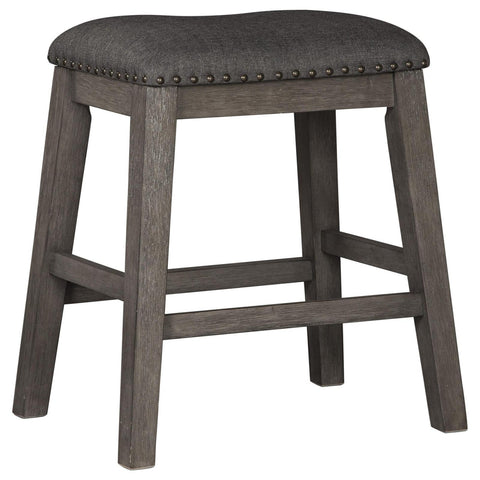 Caitbrook Upholstered Stool, Bar Stool - Adams Furniture