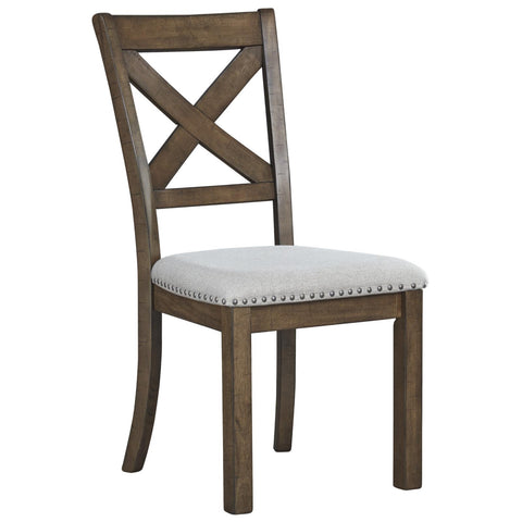 Moriville Dining Chair, Dining Chair, Ashley Furniture - Adams Furniture
