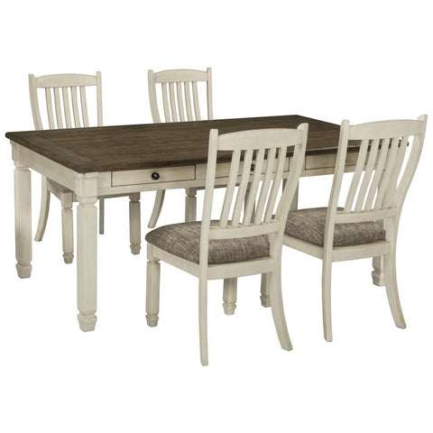 Bolanburg 5 Piece Dining Set, Dining Set, Ashley Furniture - Adams Furniture