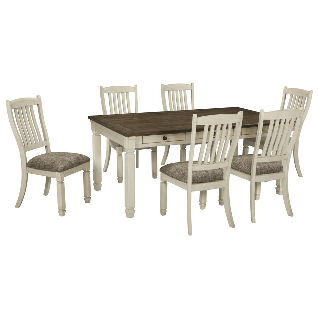Bolanburg 7 Piece Dining Set, Dining Set, Ashley Furniture - Adams Furniture
