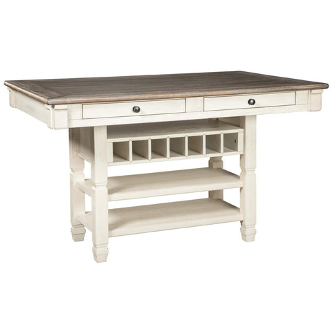 Bolanburg Counter Height Table, Dining Table, Ashley Furniture - Adams Furniture