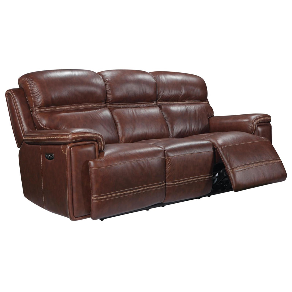 Fresno Power Reclining Sofa w/ Power Headrest, Sofa, Leather Italia - Adams Furniture