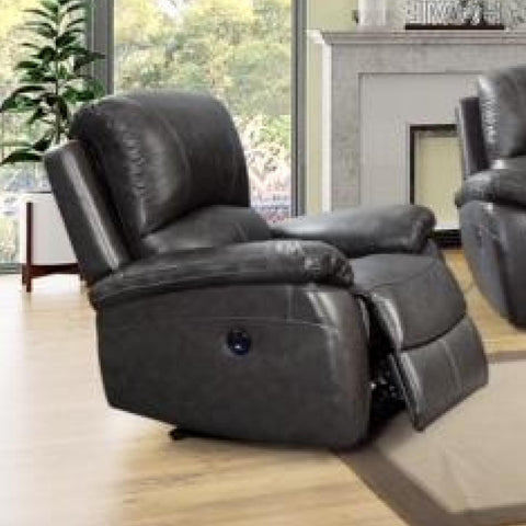 Jasmine Power Recliner, Recliner, Leather Italia - Adams Furniture