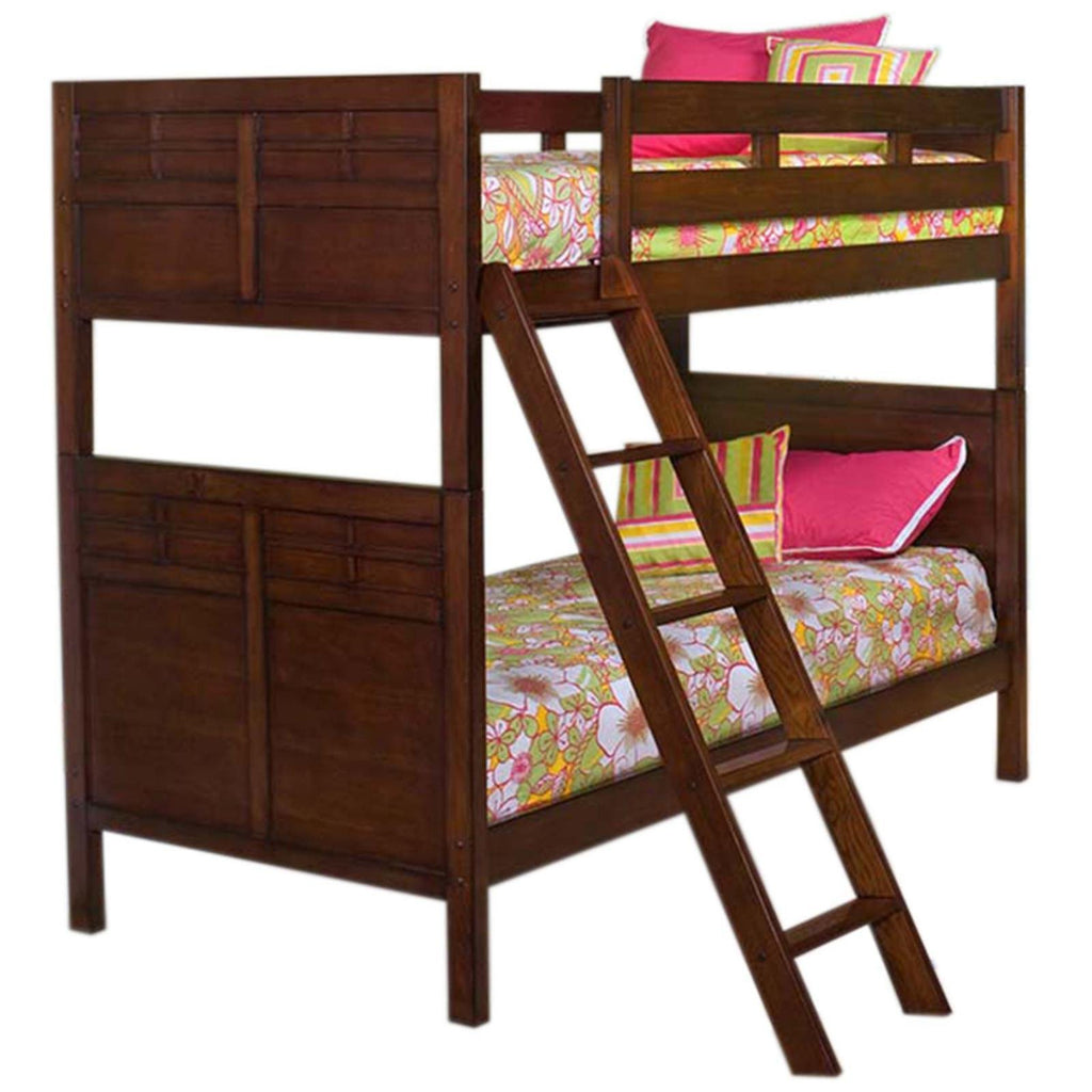 Kensington Twin/Twin Bunk Bed with Under-Bed Storage, BUNK BED - Adams Furniture