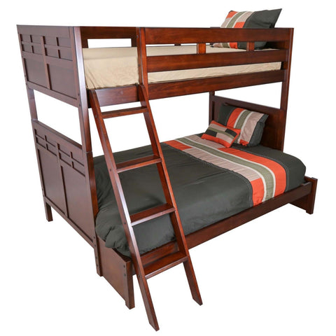 Kensington Twin/Full Bunk Bed with Under-Bed Storage, BUNK BED - Adams Furniture