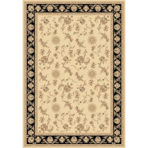 Legacy - Ivory/Black Area Rug, Rug, Dynamic Rugs - Adams Furniture