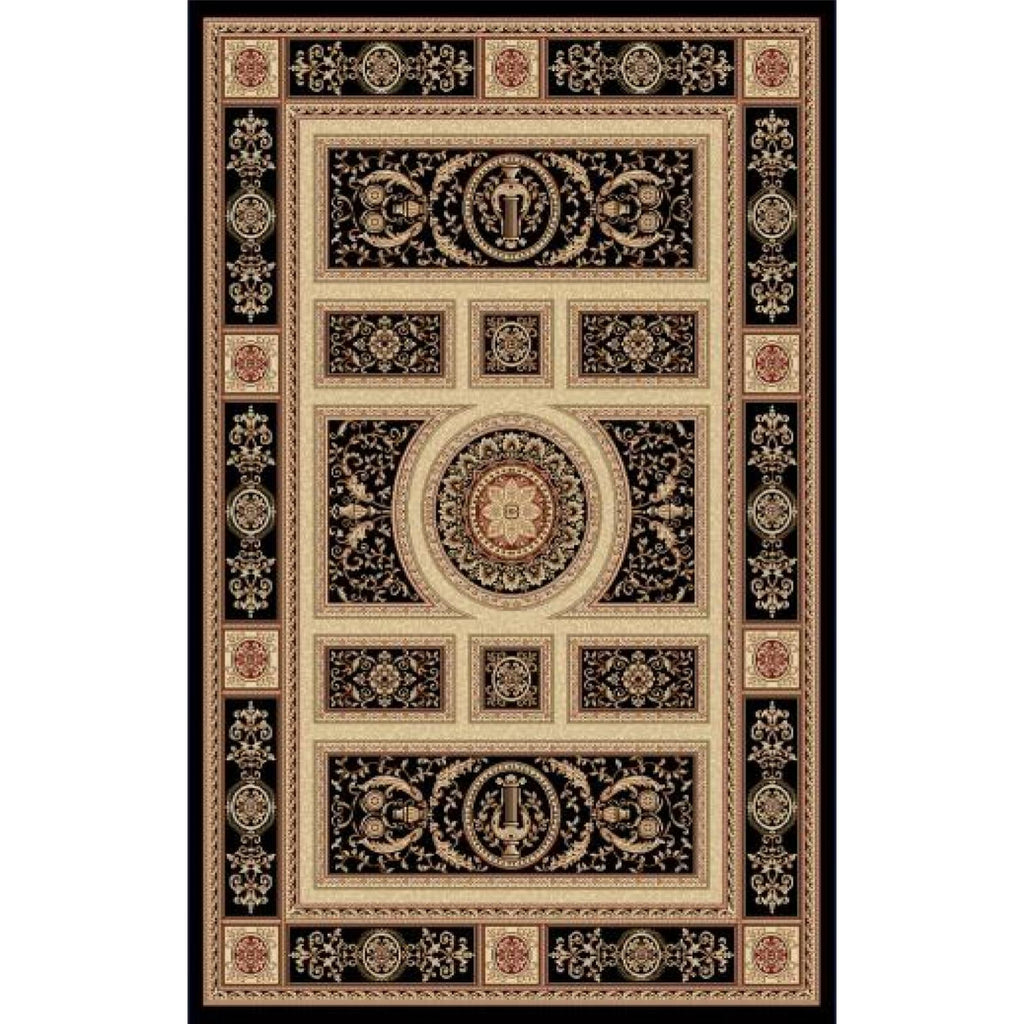 Legacy - Black Area Rug, Rug, Dynamic Rugs - Adams Furniture