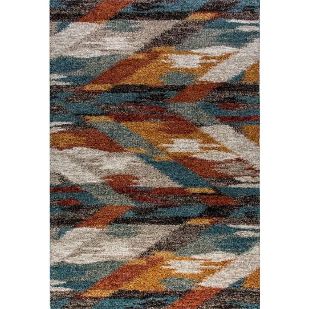 Mehari - Multi Color Area Rug, Rug, Dynamic Rugs - Adams Furniture