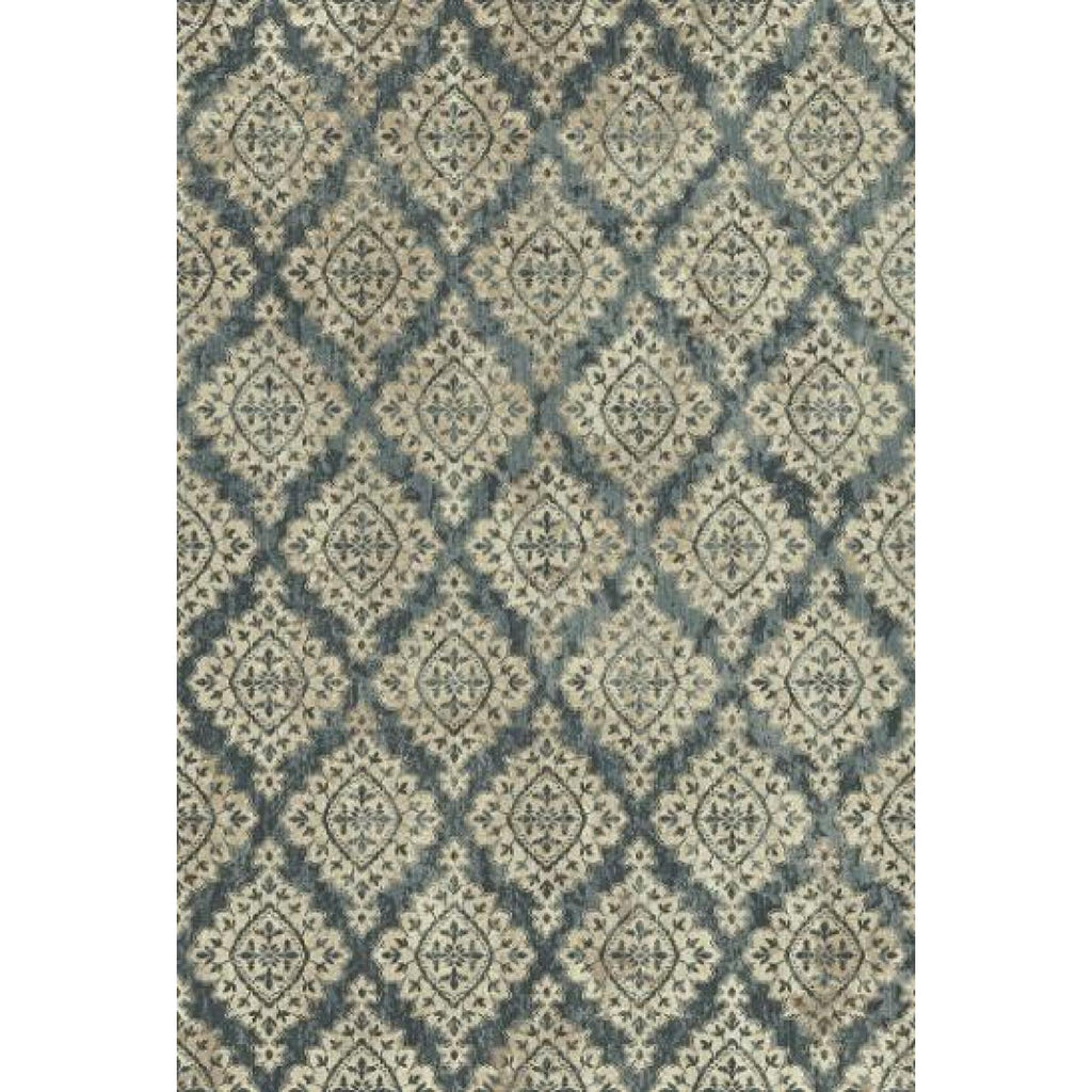 Melody - Ivory/Blue Area Rug, Rug, Dynamic Rugs - Adams Furniture
