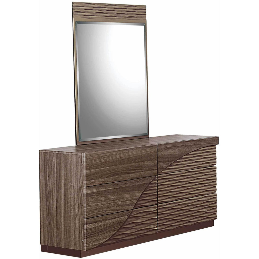 North Dresser & Mirror, Dresser & Mirror, Global Furniture - Adams Furniture