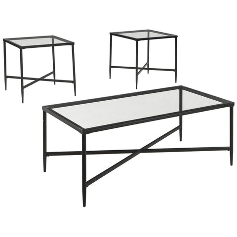 Augeron 3PC Occasional Table Set, Occasional Tables - Adams Furniture